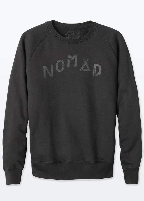 Nomad Grey Stargazer Organic Cotton Sweater-The Level Collective-MAMOQ