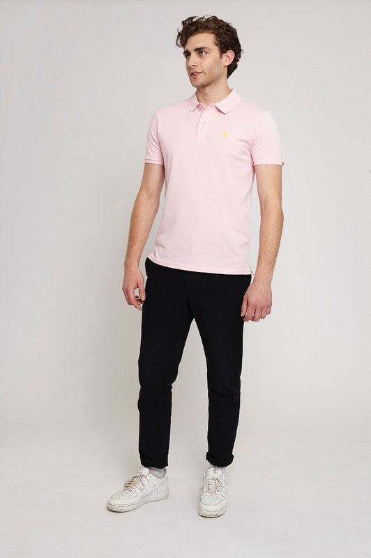 Oakley Bubblegum Pink Organic Cotton Polo Shirt-Absolutely Bear-MAMOQ