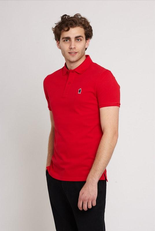 Oakley Scarlett Red Organic Cotton Polo Shirt-Absolutely Bear-MAMOQ