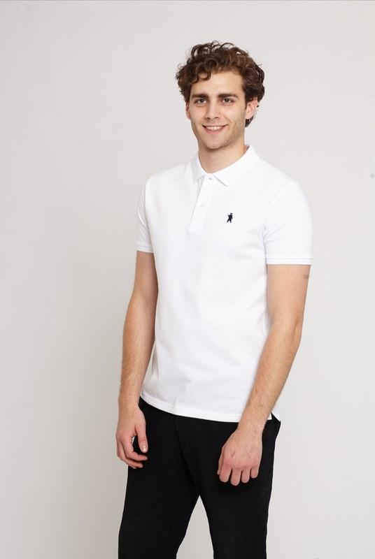 Oakley White Organic Cotton Polo Shirt-Absolutely Bear-MAMOQ