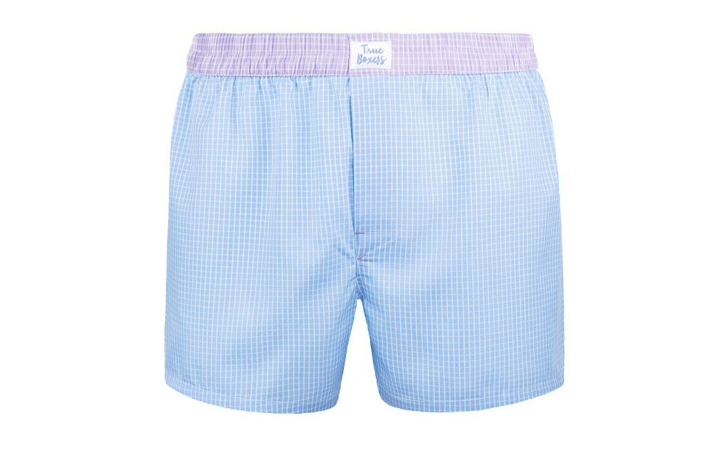 Obsession Blue Cotton Boxers-True Boxers-MAMOQ