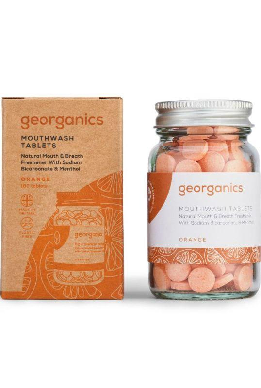 Orange Flavoured Mouthwash Tablets-Georganics-MAMOQ