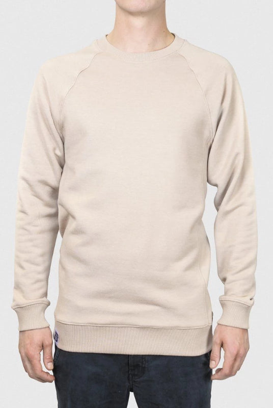 Organic Cotton and Recycled Polyester Desert Sweater-Lyme Terrace-MAMOQ