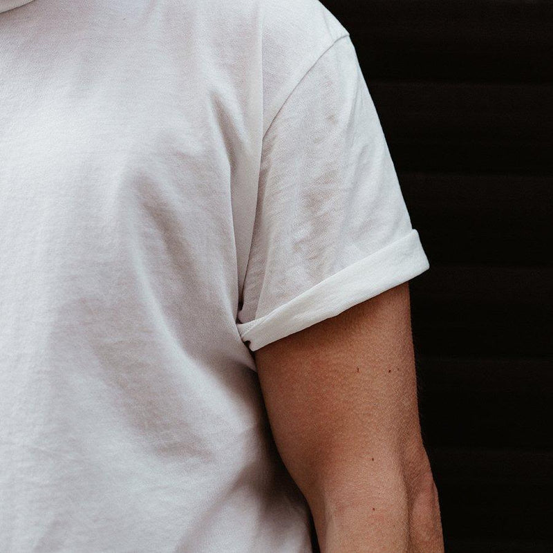 Origin White T-Shirt-Ivywake-MAMOQ