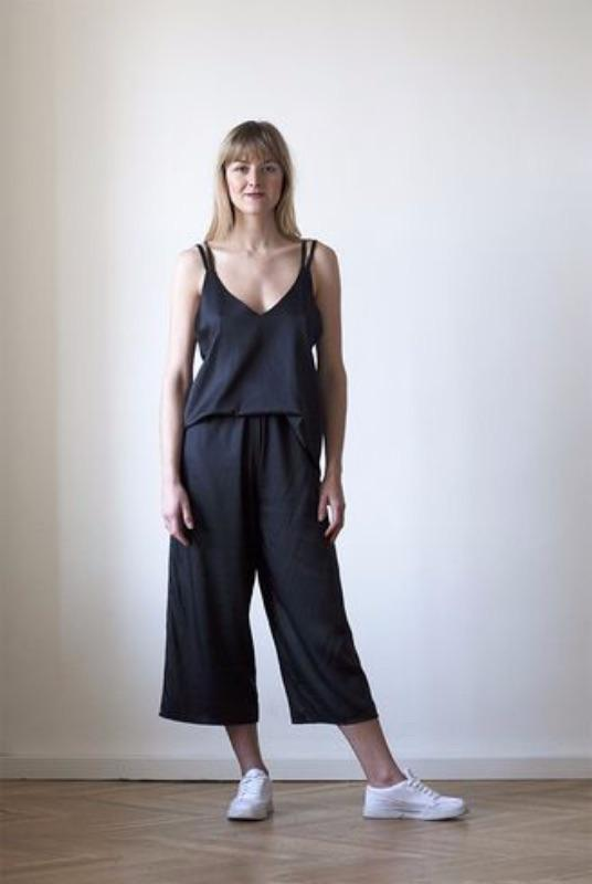 Own It Bamboo Silk Culottes-ADVA-MAMOQ