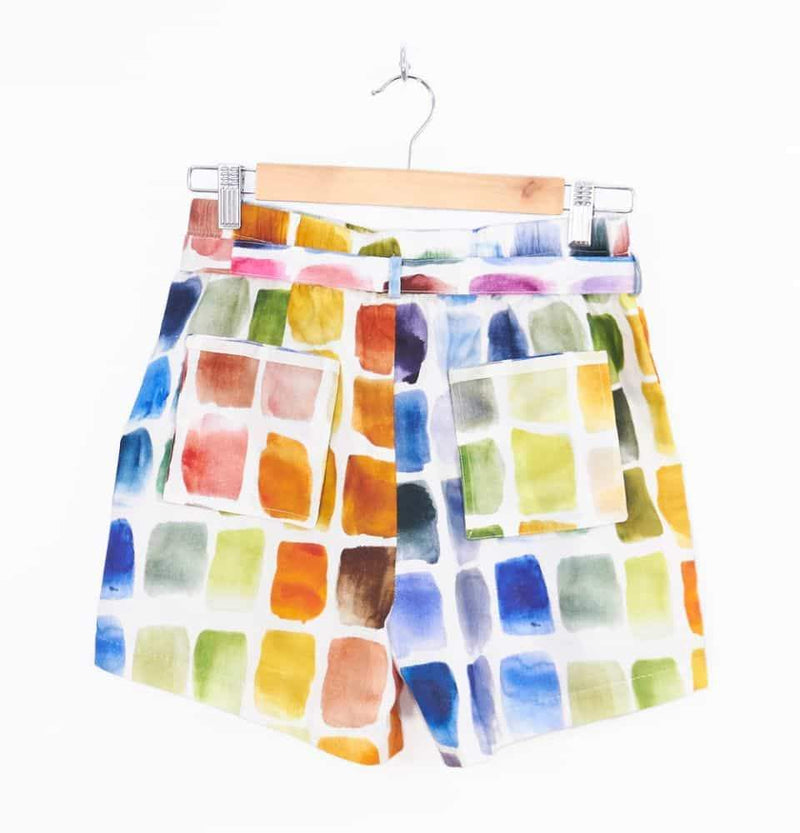 Palette Man Ray Shorts-Cor-MAMOQ