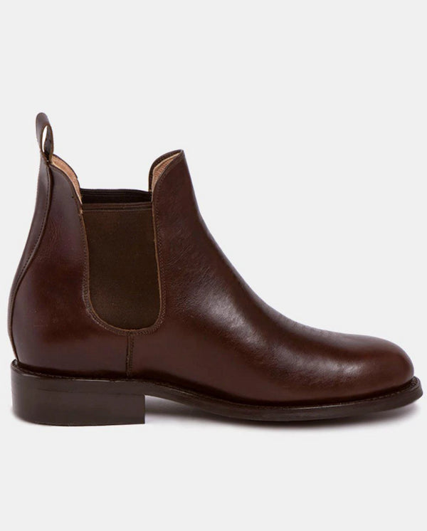 Pedro Chocolate Men's Leather Chelsea Boots-Boots-CANO-MAMOQ