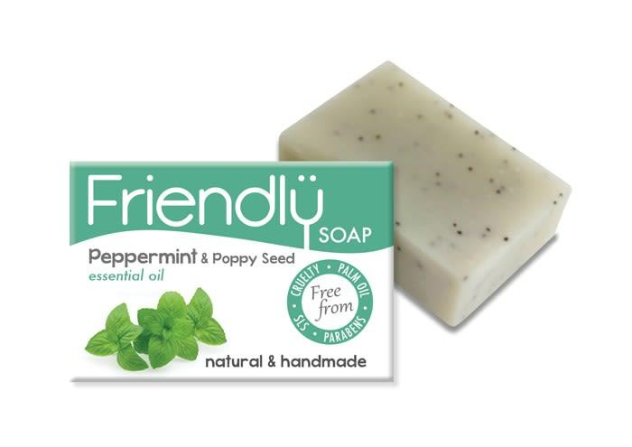 Peppermint & Poppy Seeds Soap-Friendly Soap-MAMOQ