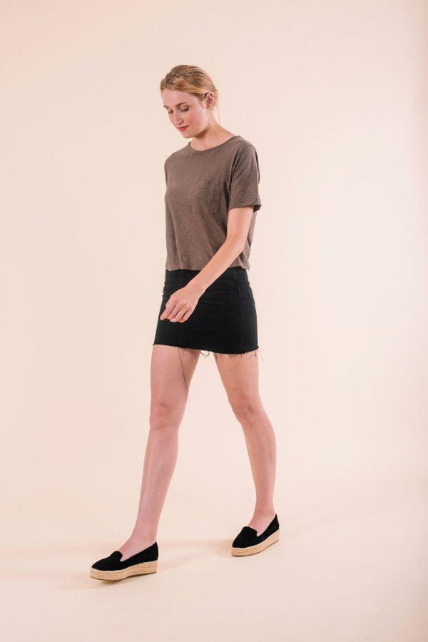 Poppy Khaki Top-Know The Origin-MAMOQ
