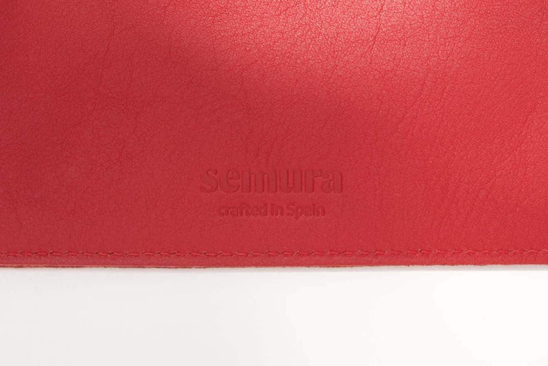 Pouchl 1 Red Wallet-Semura-MAMOQ