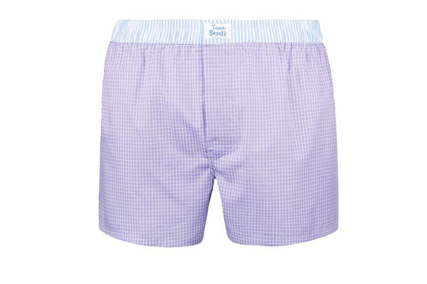 Purple Rain Purple Cotton Boxers-True Boxers-MAMOQ