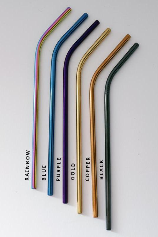 Re-Usable Metal Straw Set-Zola Amour-MAMOQ