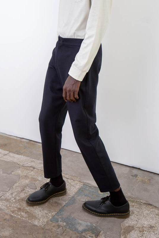 Recycled Wool Tailored Trouser-Riley Studio-MAMOQ