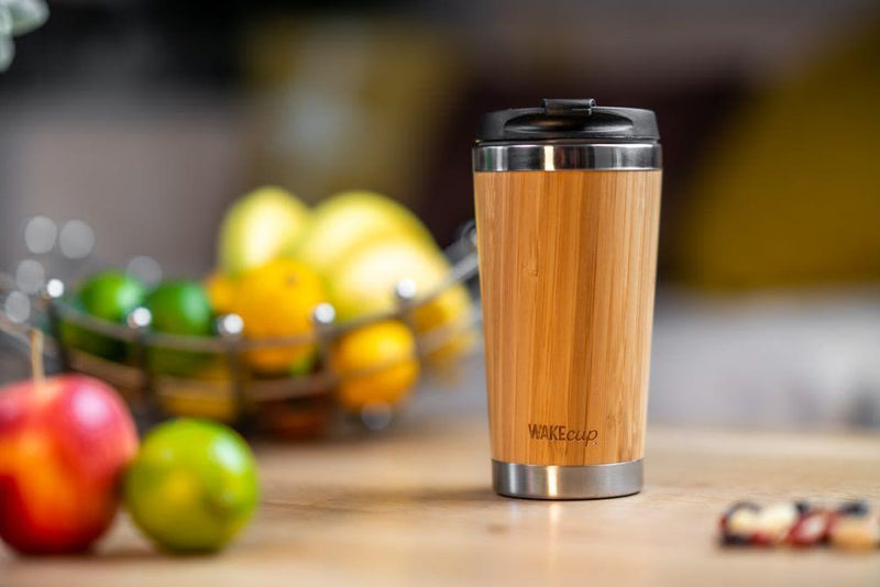 Reusable Bamboo Coffee Cup-WAKEcup-MAMOQ