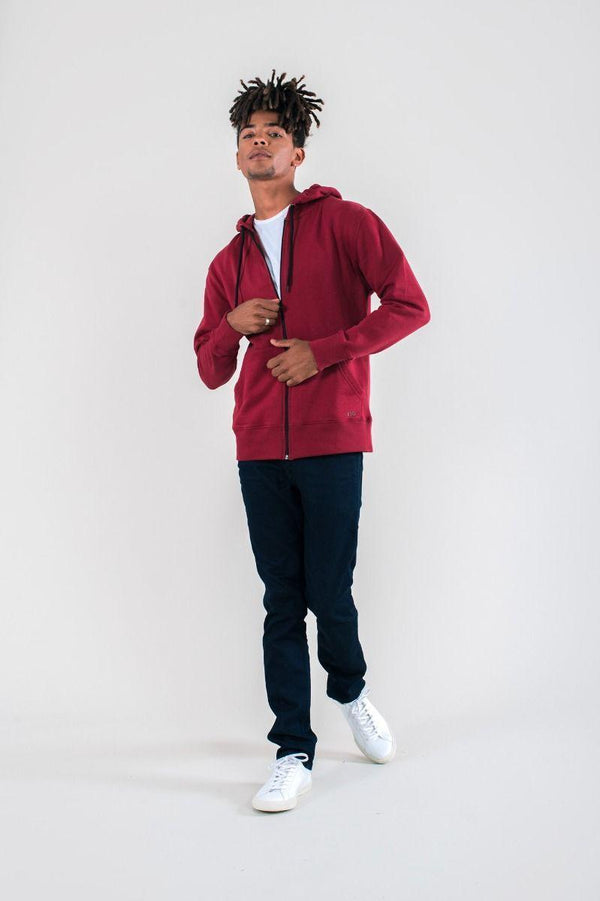 Revi Red Hoodie-Know The Origin-MAMOQ