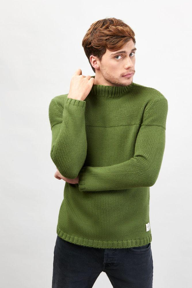Robin High Neck Jumper-Komodo-MAMOQ