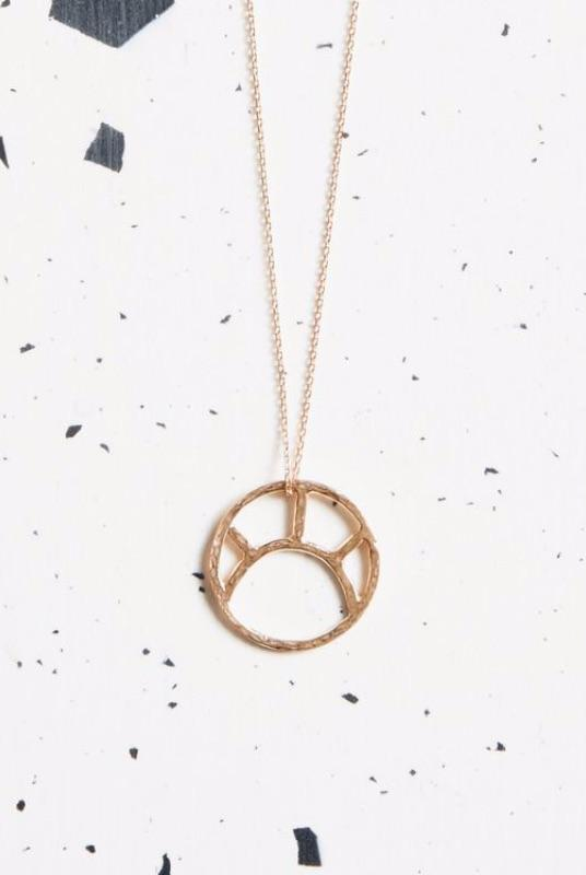 Rose Gold Soleil Necklace-KIND Jewellery-MAMOQ