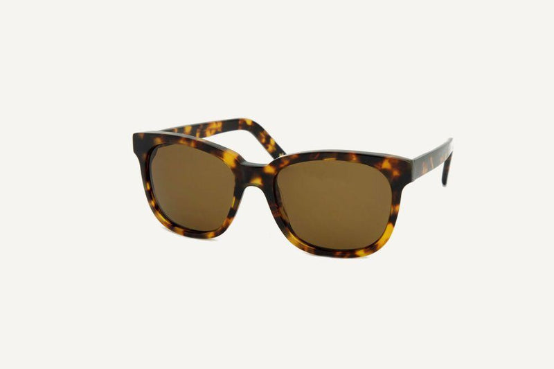 San Fransisco Yellow Havana Unisex Sunglasses-Dick Moby-MAMOQ