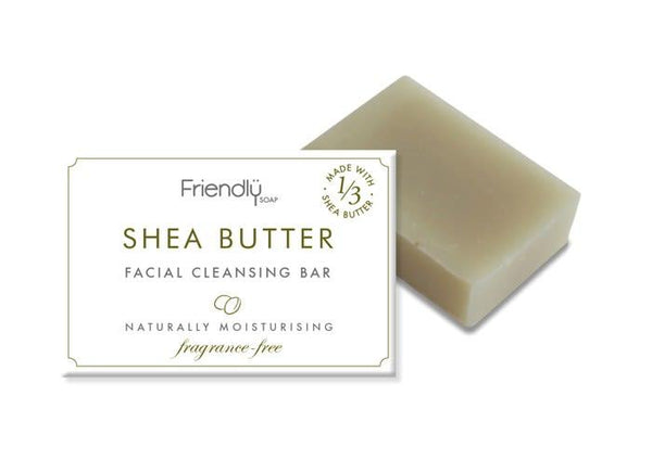 Shea Butter Facial Cleansing Bar-Friendly Soap-MAMOQ