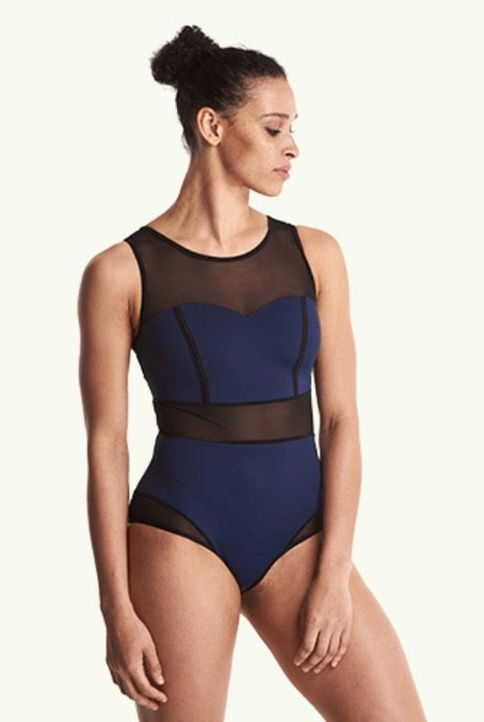 Signature Swimsuit Navy - Hepburn-Deakin and Blue-MAMOQ