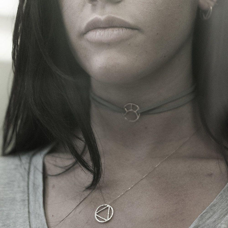 Silver Elements Necklace-KIND Jewellery-MAMOQ