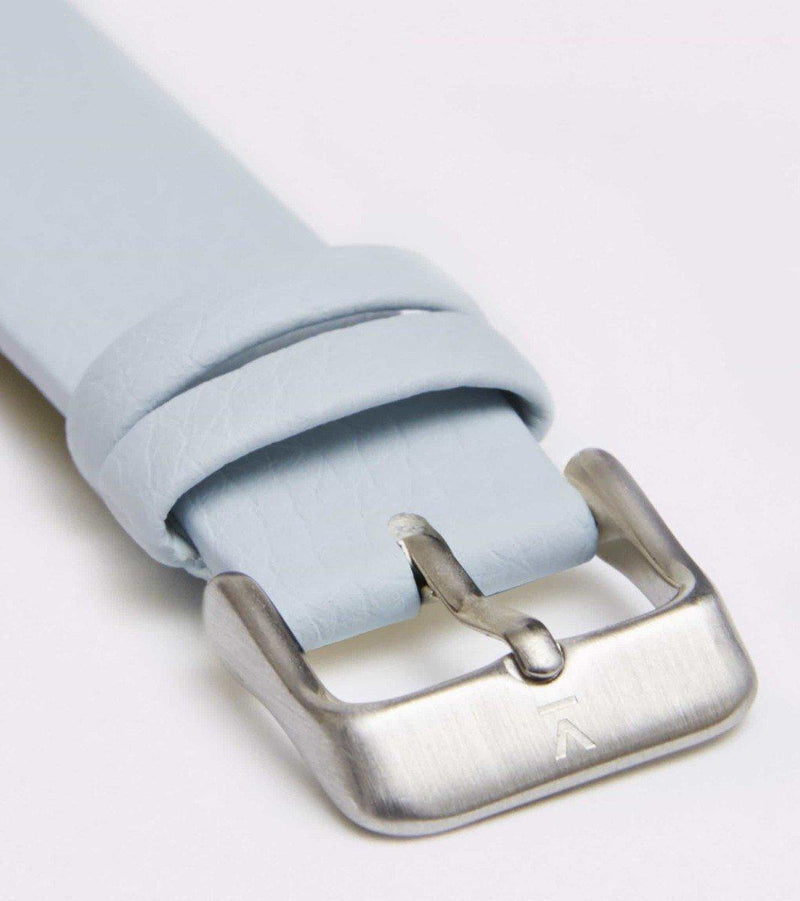 Silver Face & Light Blue Strap-Votch-MAMOQ