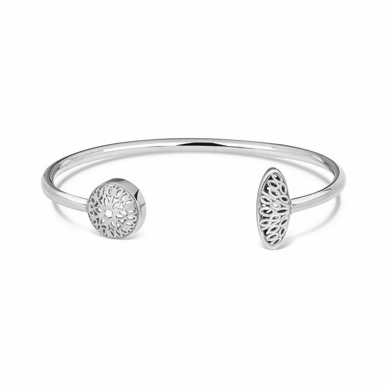 Silver Seville Bangle-Little by Little Jewellery-MAMOQ
