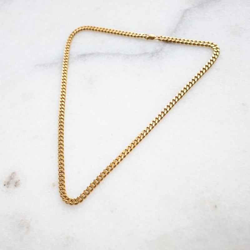 Simple chain necklace-Mélanie Pigeaud-MAMOQ