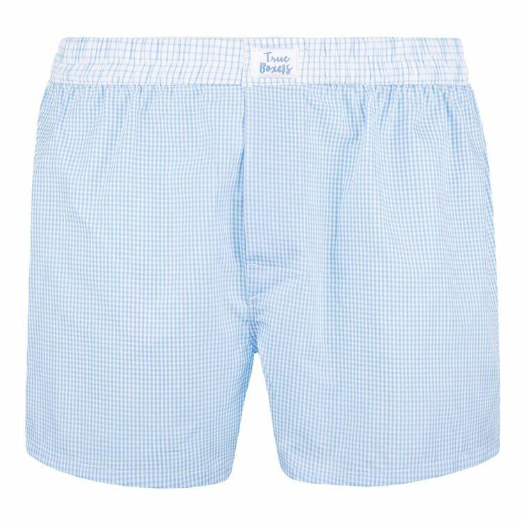 Skyline Blue Cotton Boxers-True Boxers-MAMOQ