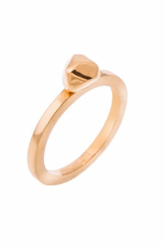 Small 18K Gold Plated Mani Ring-ANUKA Jewellery-MAMOQ