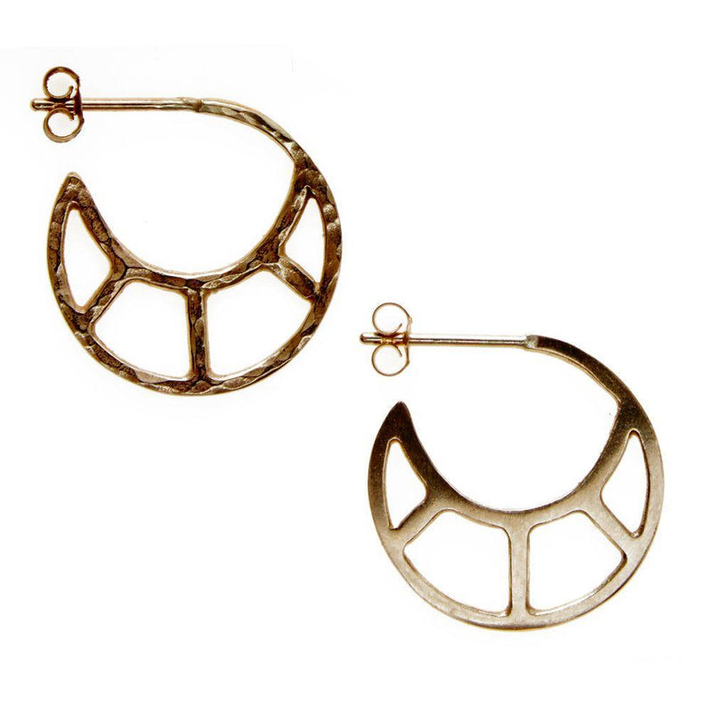 Soleil Hoop Earrings-KIND Jewellery-MAMOQ