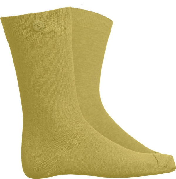 Solid Yellow Socks-Qnoop-MAMOQ
