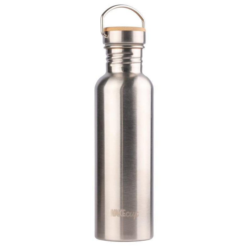 Stainless Steel Water Bottle-WAKEcup-MAMOQ