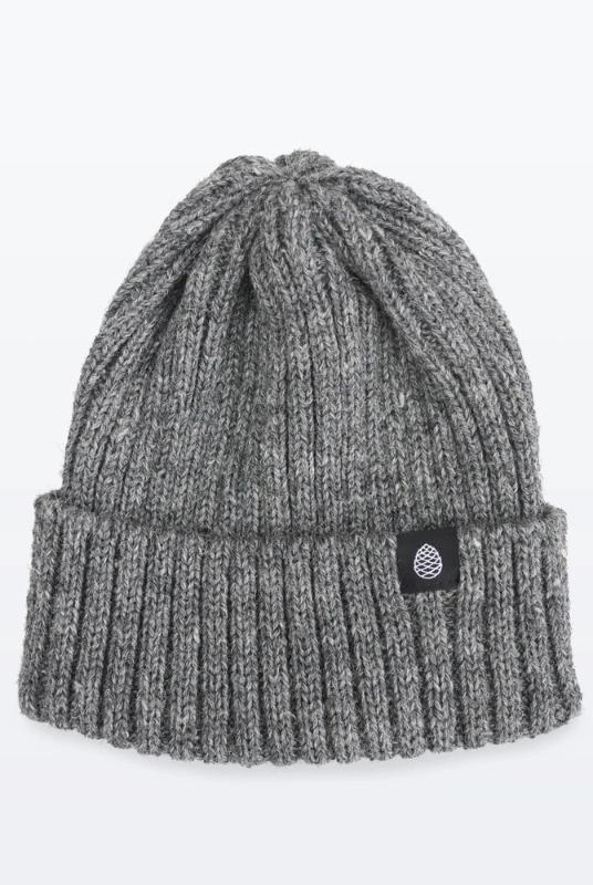 Steel Color British Wool Everyday Trail Beanie-The Level Collective-MAMOQ