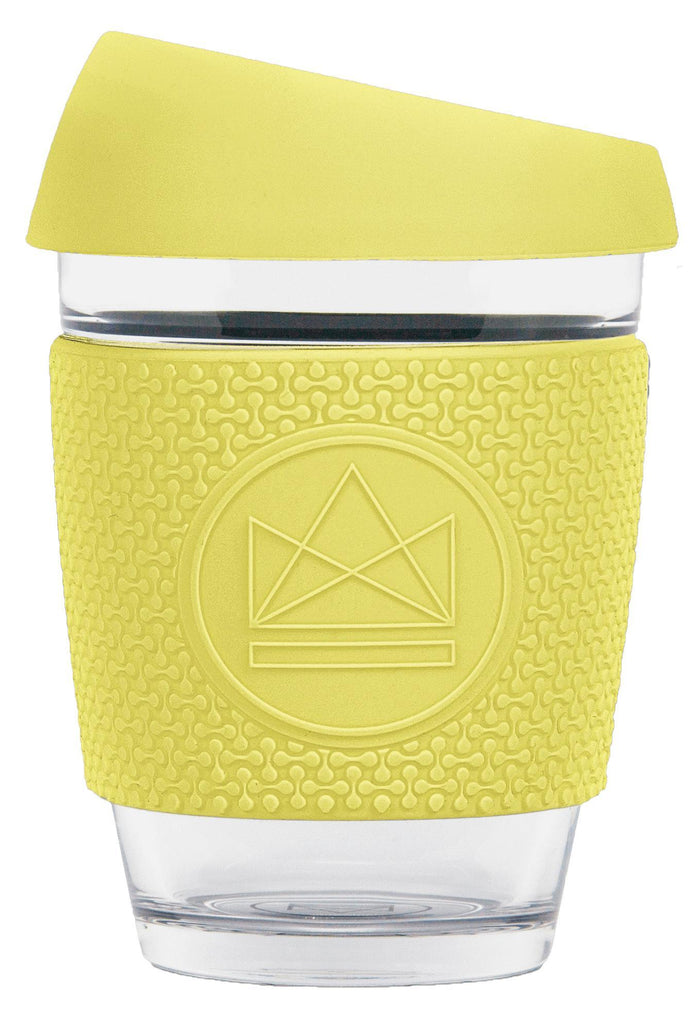 Sun Is Shining Yellow Glass Coffee Cups-Glass Coffee Cups-Neon Kactus-MAMOQ