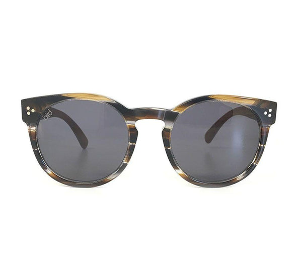 Sunda Cola Stripe Sunglasses-Bird Sunglasses-MAMOQ