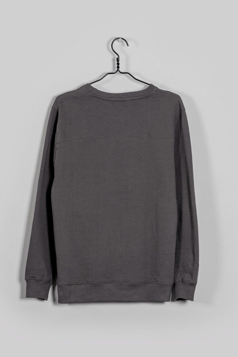 Sundar Charcoal Sweatshirt-Know The Origin-MAMOQ
