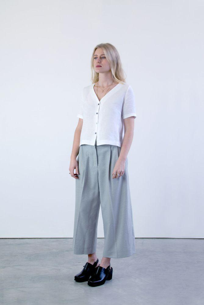 Sustainable White Shirt-Veryan-MAMOQ