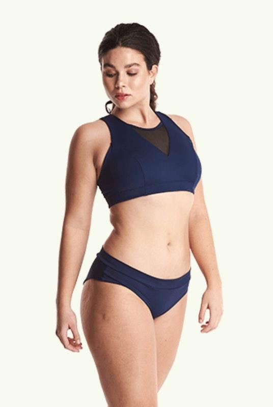 Swimbra Bikini Top Navy - Monroe-Deakin and Blue-MAMOQ