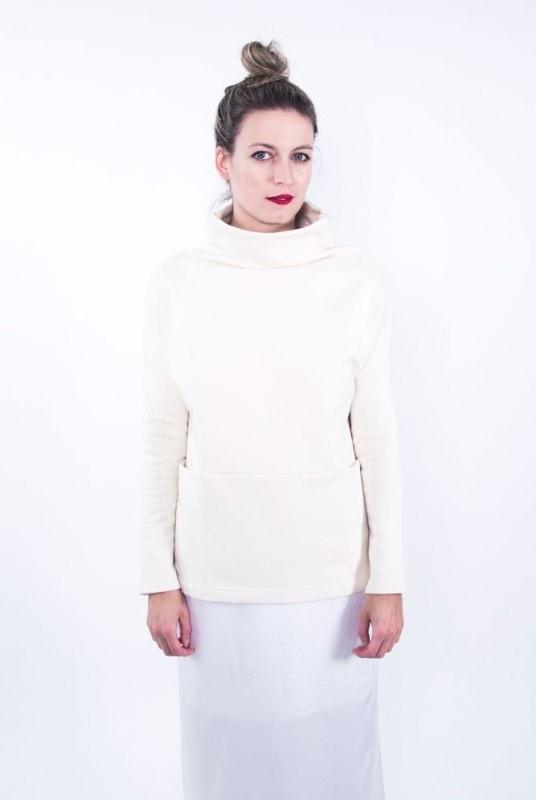 Take Me Running Organic Cotton Sweatshirt With Pockets-ADVA-MAMOQ