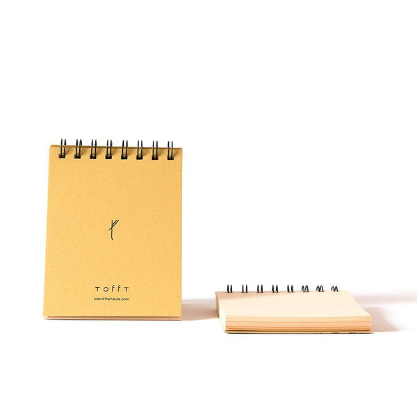 Tale Of The Future Natural Ringed Notepad-Tale Of The Future-MAMOQ