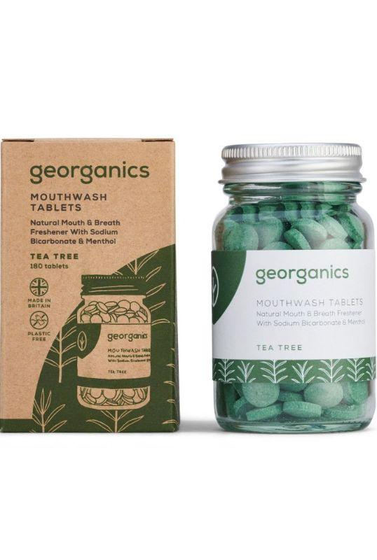 Tea Tree Mouthwash Tablets-Georganics-MAMOQ