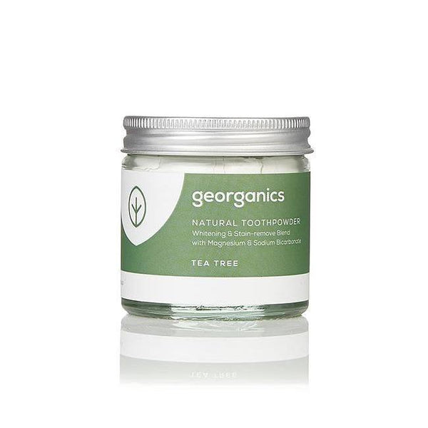 Tea Tree Natural Toothpowder-Georganics-MAMOQ
