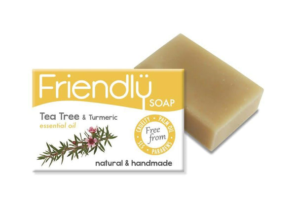 Tea Tree & Turmeric Soap-Friendly Soap-MAMOQ