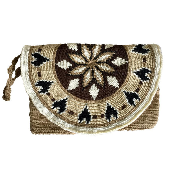 Telembí Patterned Cotton Mochila Clutch Bag-Untold Treasures-MAMOQ