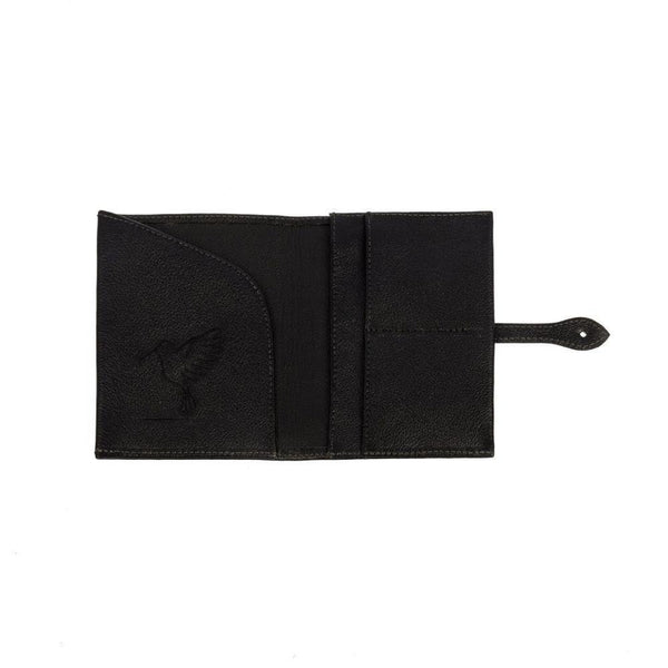 The Black Travel Wallet-Belo-MAMOQ