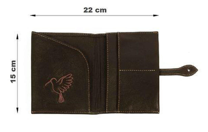 The Brown Travel Wallet-Belo-MAMOQ