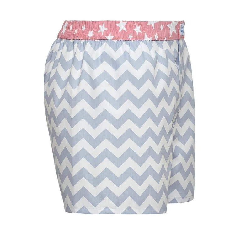 The Zig Zag Boxer Short-True Boxers-MAMOQ