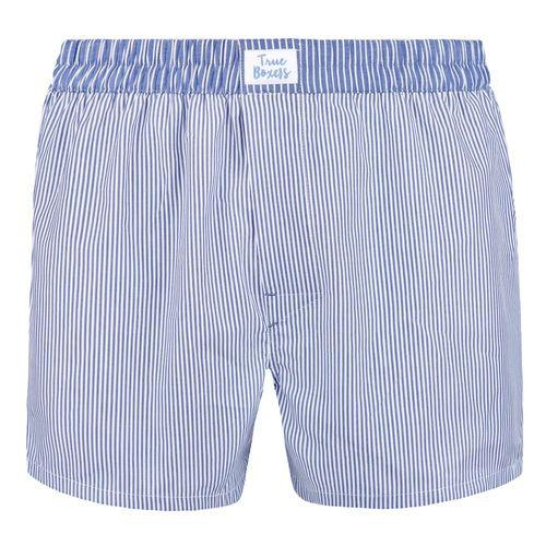 Timeless Life Blue Cotton Boxers-True Boxers-MAMOQ