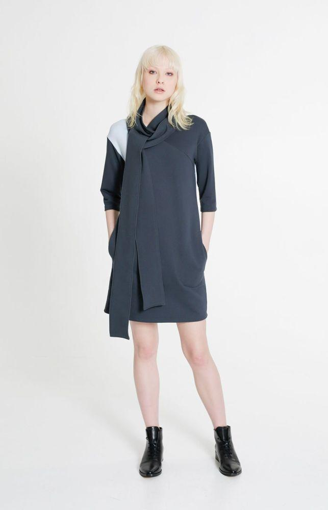 Trace Dress Alpine Green-TAUKO-MAMOQ